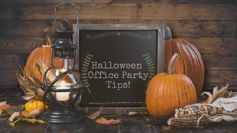 Halloween Edition: Planning an office Halloween party? Here are some cool tips!